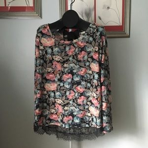 Gorgeous Floral Long Sleeved Shirt